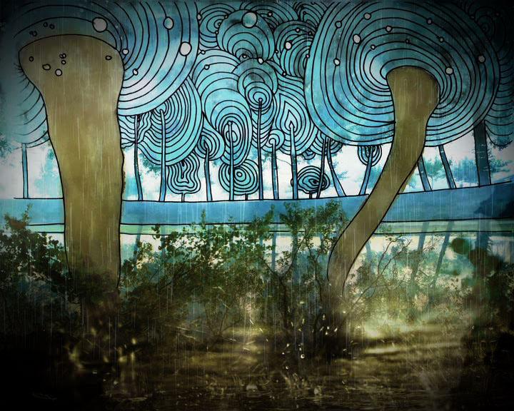 DeLaFe y las flores azules VS Las Trompetas de la muerte tour 2010