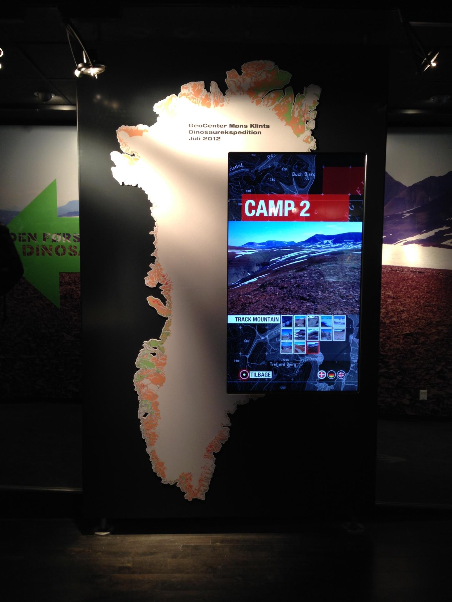 Møns Klint Special Exihibition – The Map