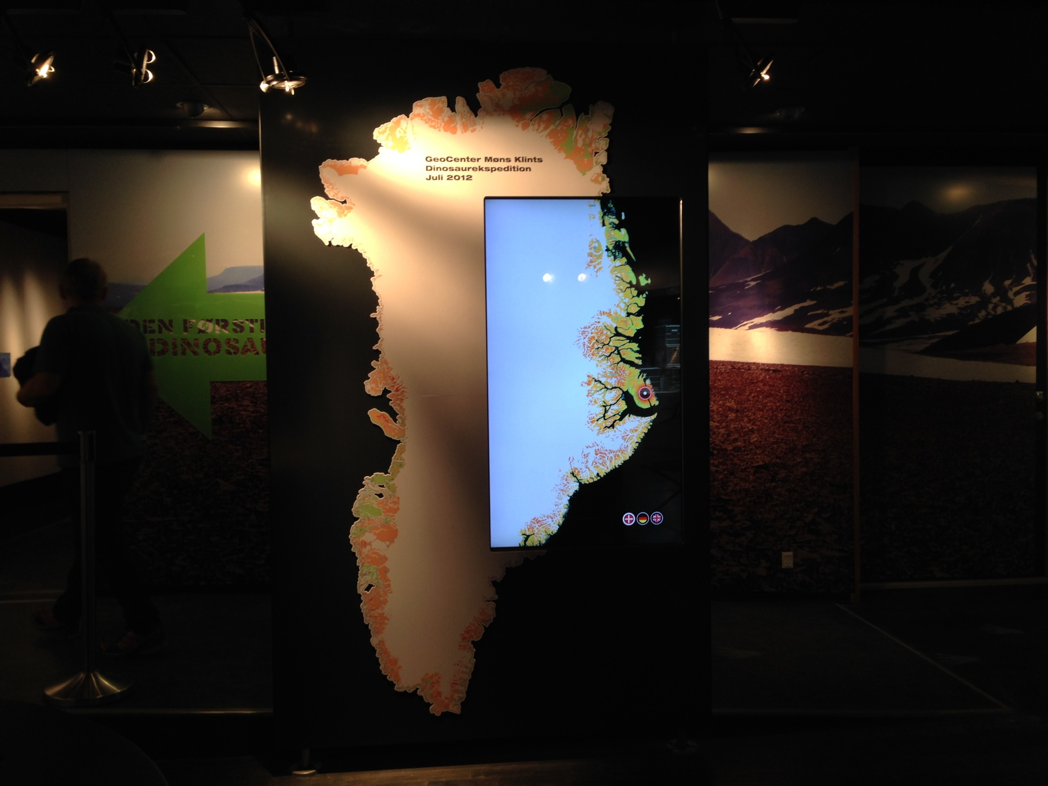 Møns Klint Special Exihibition – The Map